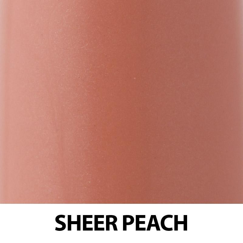 Ruj organic cu ulei de trandafiri, Sheer Peach - ZUII Organic