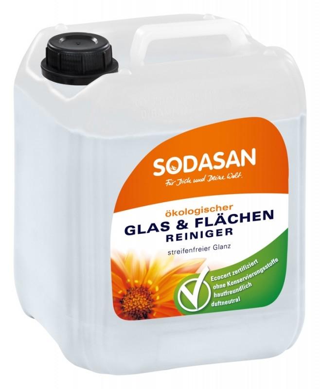 Solutie bio de curatat geamuri si suprafete, 2L - Sodasan