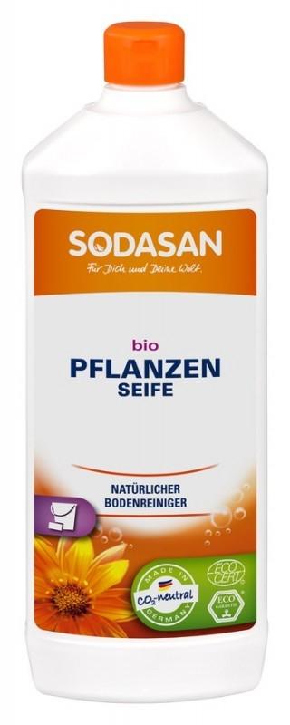 Solutie bio pentru podele, fara parfum,  1L - Sodasan