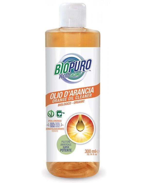 Solutie de curatare super-concentrata cu ulei de portocale, 300 ml - Biopuro