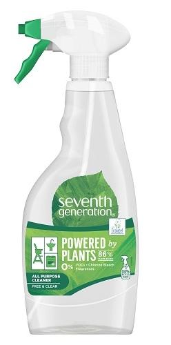 Solutie eco de curatare universala Fara Parfum, 500ml - Seventh Generation