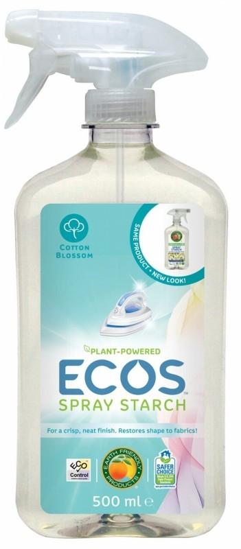 Solutie eco pentru calcarea usoara a rufelor, 500 ml - ECOS