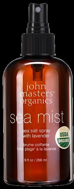 Spray coafant cu apa de mare si lavanda Sea Mist, 266 ml - John Masters Organics