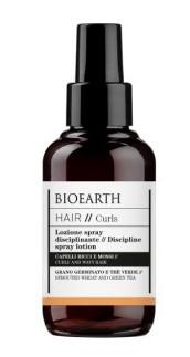 Spray leave-in cu fixare medie pentru disciplinarea buclelor, 100ml - Bioearth Hair Curls