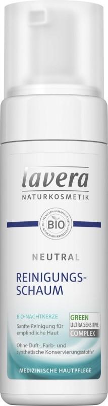 Spuma de curatare pentru ten sensibil, alergic, intolerant, Neutral - Lavera