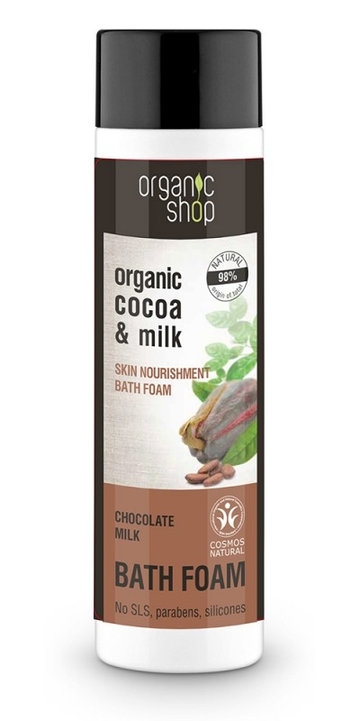 Spumant de baie cu lapte si cacao Chocolate Milk, 500 ml - Organic Shop