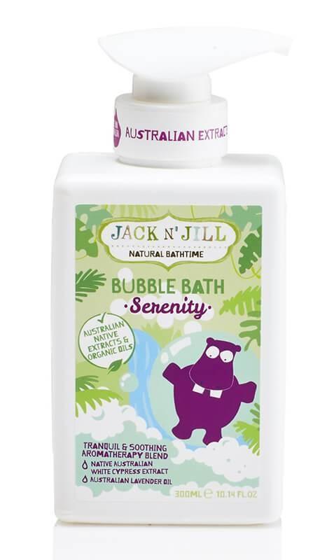 Spumant natural calmant pentru baita Serenity, 300 ml - Jack n' Jill
