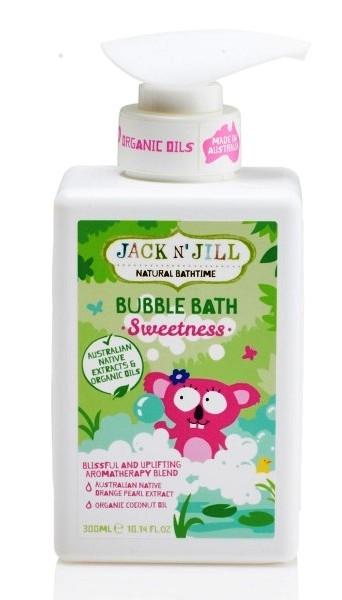 Spumant natural parfumat pentru baita Sweetness, 300 ml - Jack n' Jill
