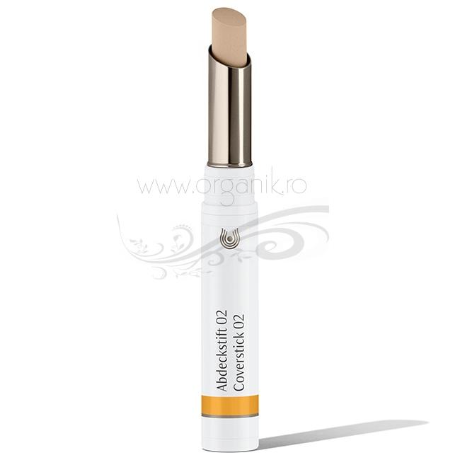 Stick corector pentru acnee si imperfectiuni 02 Beige - Dr. Hauschka
