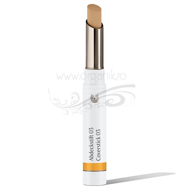 Stick corector pentru acnee si imperfectiuni Sand 03 - Dr. Hauschka