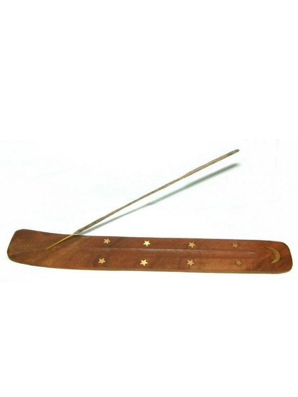 Suport lemn betisoare parfumate, clasic - Ancient Wisdom