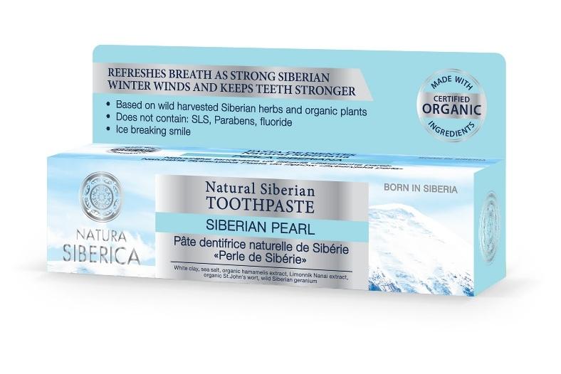 Pasta de dinti naturala pentru respiratie proaspata Siberian pearl, 100g - Natura Siberica