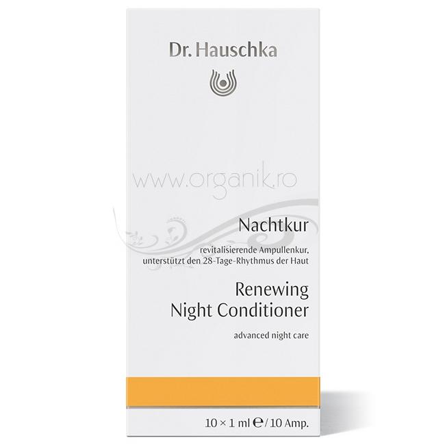 Tratament de noapte avansat, non-uleios, 10 fiole - Dr. Hauschka