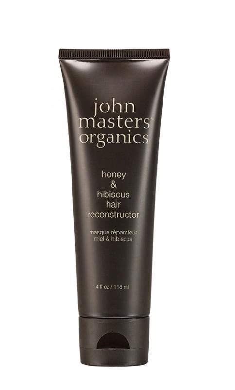 Tratament de par reconstructor Miere & Hibiscus, 118 ml - John Masters Organics