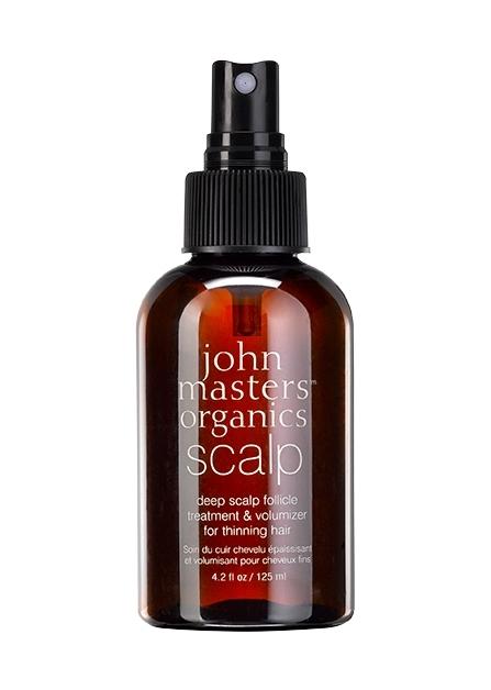 Tratament intensiv pentru foliculi, volumizator par fin, 125 ml - John Masters Organics