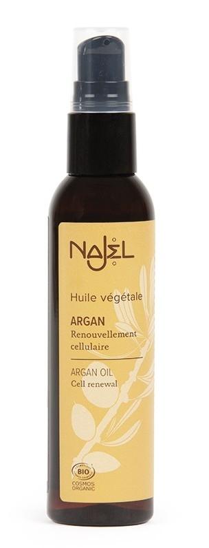 Ulei de argan certificat organic, 80ml - NAJEL