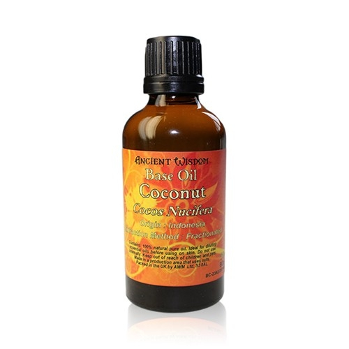Ulei de cocos fractionat (caprilis), 50ml - Ancient Wisdom