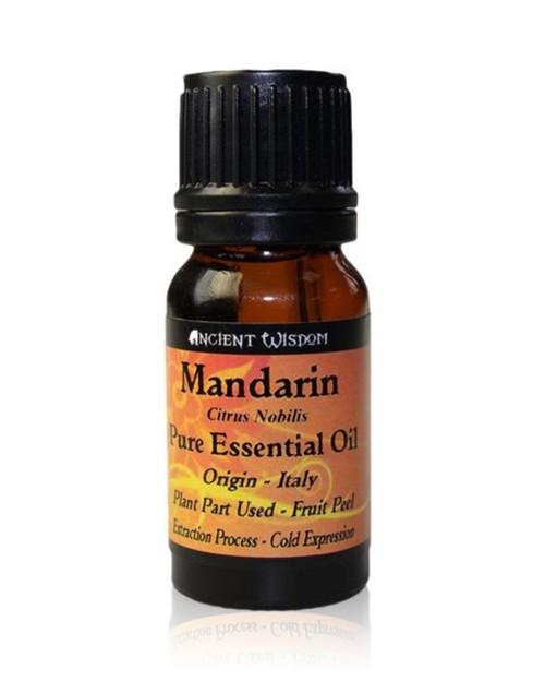 Ulei esential de Mandarine (Citrus Nobilis), 10ml - Ancient Wisdom