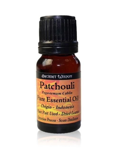 Ulei esential de Patchouli (Pogostemon Cablin), 10ml - Ancient Wisdom
