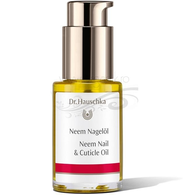 Ulei fortifiant pentru unghii si cuticule cu neem, 30 ml - Dr. Hauschka