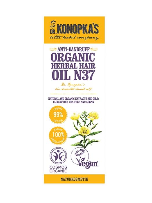 Ulei organic No.37, tratament pentru matreata, 30 ml - Dr. Konopka