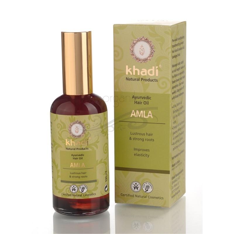 Ulei tratament cu Amla impotriva caderii parului, 100 ml - Khadi