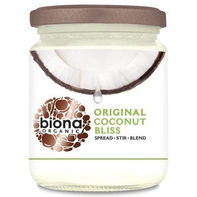 Unt de cocos bio tartinabil Coconut Bliss, 250g - Biona