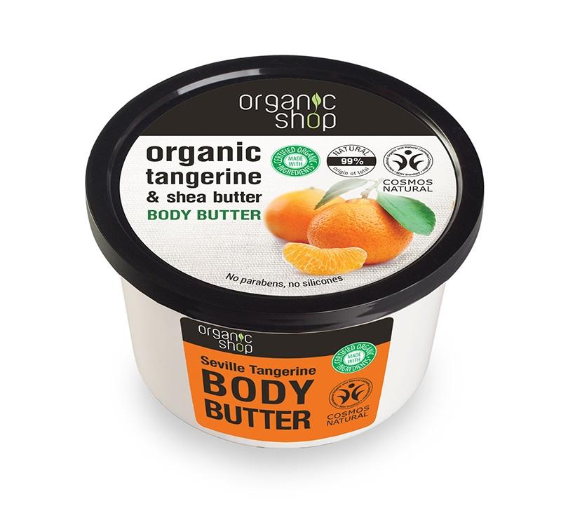 Unt de corp delicios cu mandarine Seville Tangerine, 250 ml - Organic Shop