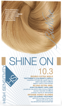 Vopsea de par hipoalergenica Shine On HS, Intense Honey Blonde 10.3 - Bionike