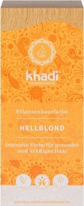 Vopsea de par naturala Henna Blond Deschis - Khadi