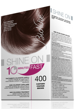 Vopsea de par naturala rapida Shine On FAST, Brown 400 - Bionike