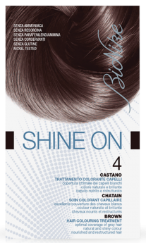 Vopsea de par tratament Shine On, Brown 4 - Bionike