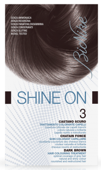 Vopsea de par tratament Shine On, Dark Brown 3 - Bionike