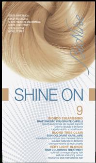 Vopsea de par tratament Shine On, Very Light Blonde 9 - Bionike