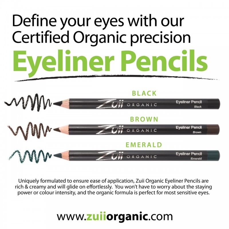 Creion organic pentru contur ochi, Verde - ZUII Organic