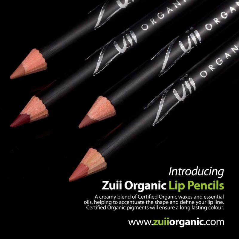 Creion organic pentru contur buze, Sienna - ZUII Organic