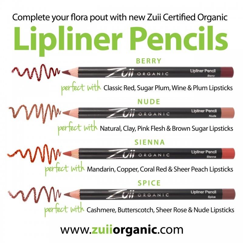 Creion organic pentru contur buze, Nude - ZUII Organic