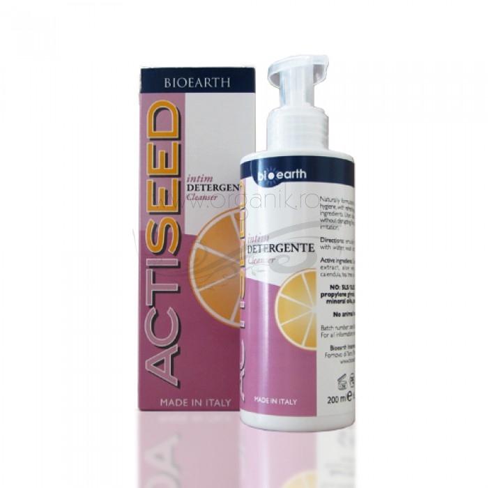 Detergent intim cu extract de grapefruit, Actiseed - Bioearth