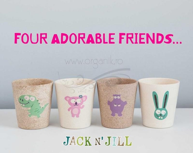 Pahar pentru clatire sau depozitare Hippo - Jack n' Jill