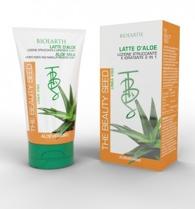 Aloe Milk Lapte demachiant si hidratant 2 in 1 - Bioearth