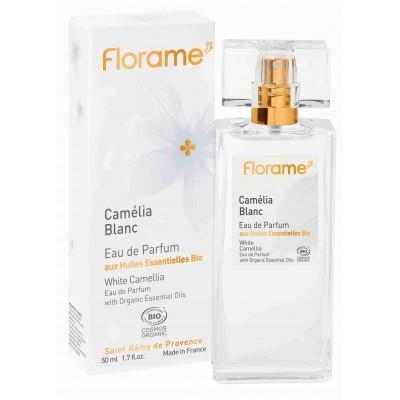 Apa de parfum bio Camelia Blanc, 50 ml - Florame
