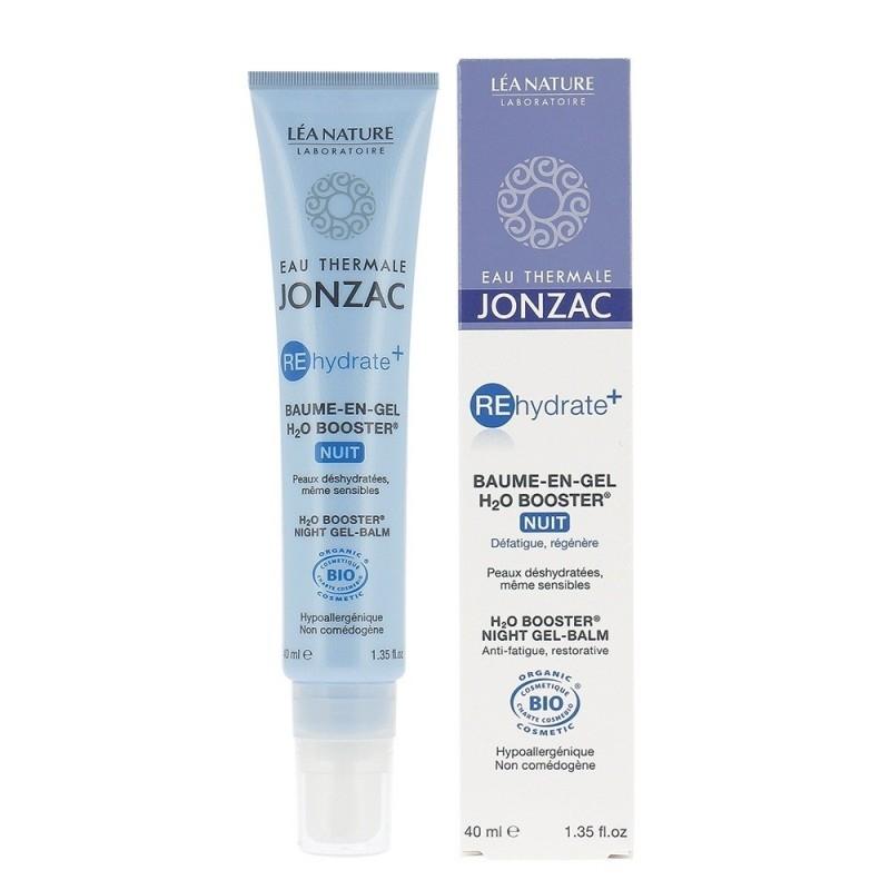 Balsam-gel de noapte H2O Booster, REhydrate+ 40ml - JONZAC