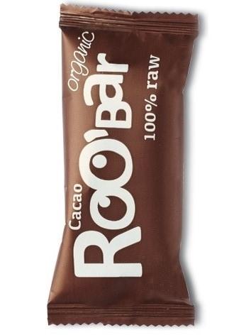 Baton raw bio cu cacao, 50g - Roobar