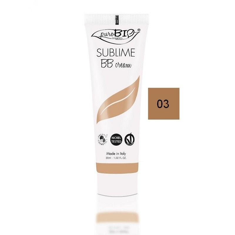 BB Cream bio Sublime 03 (ten mediu-inchis) - PuroBio