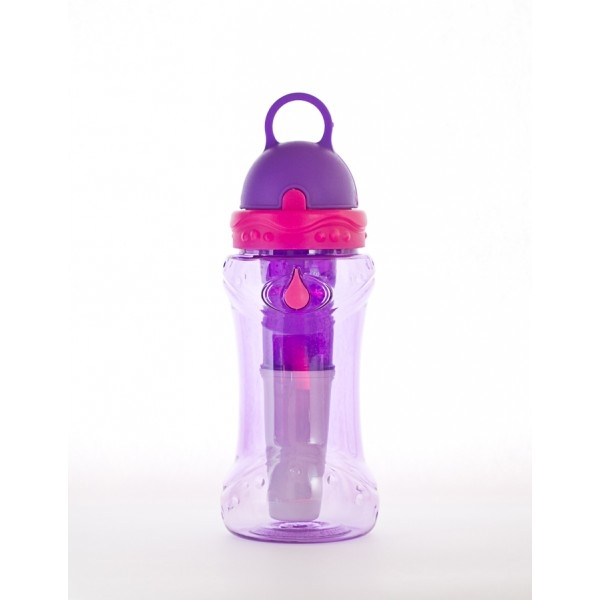 Sticla de apa cu filtru de carbon si gel de racire non toxic, 414 ml MOV - Irisana