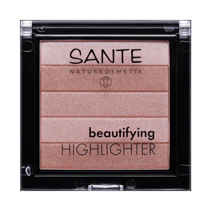 Iluminator pentru ten Beautifying Highlighter 01 Nude - SANTE NATURKOSMETIK