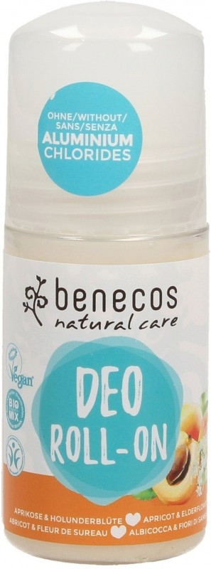 Deodorant roll-on bio Caise & Flori de soc - Benecos