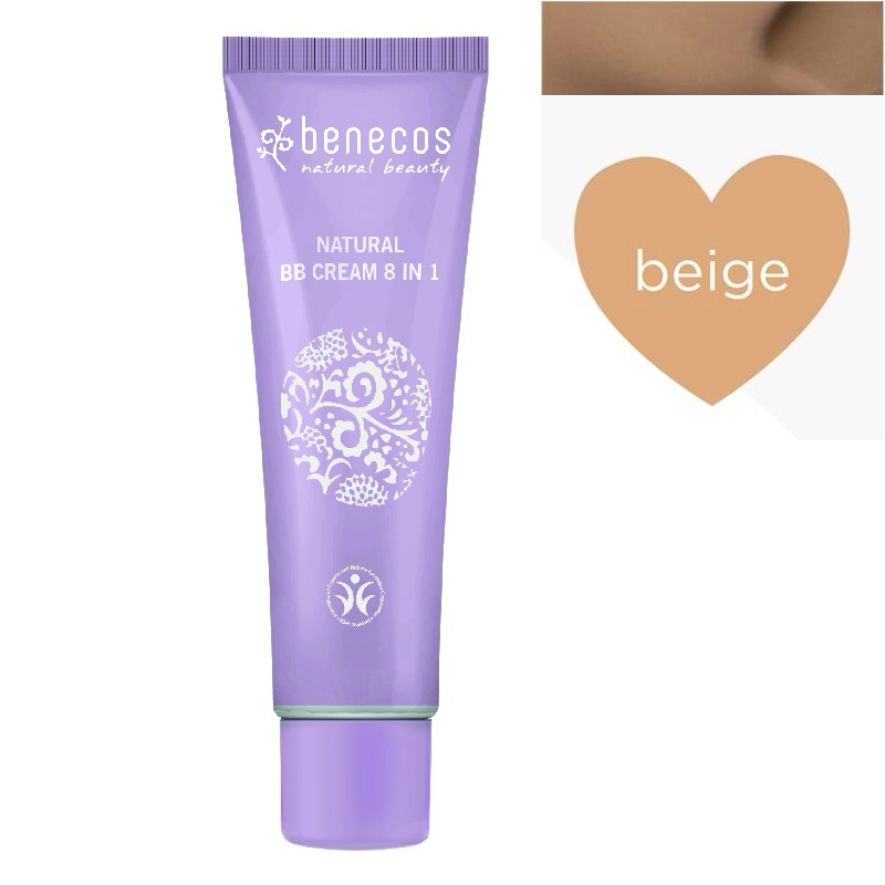 BB Cream bio 8-in-1, Beige (ten inchis) - Benecos