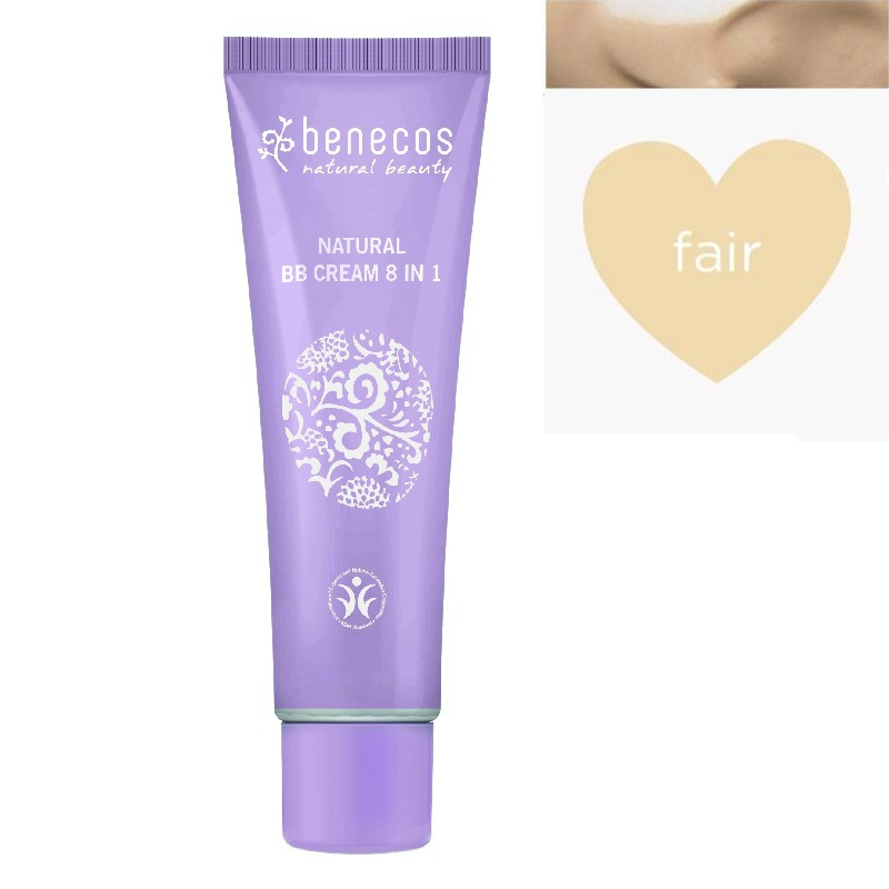 BB Cream bio 8-in-1, Fair (ten deschis) - Benecos