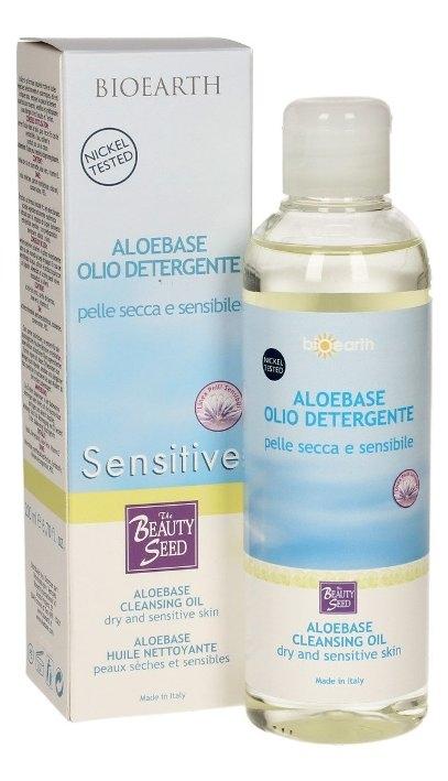 Ulei de baie Aloebase Sensitiv pentru pielea uscata, iritata & bebelusi - Bioearth